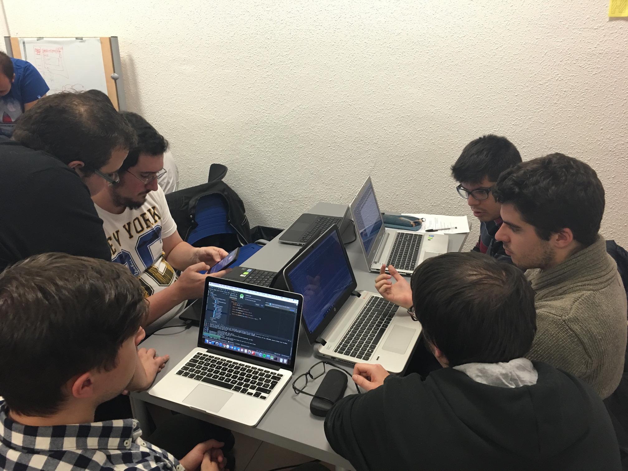 codificando en equipo