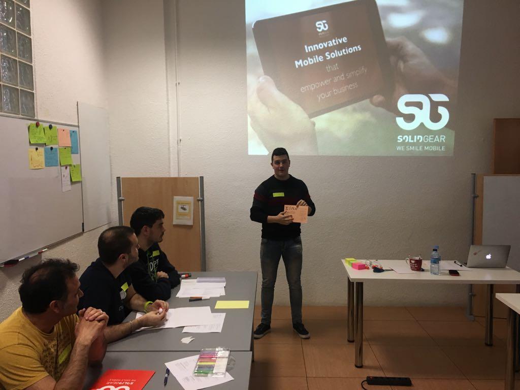 Academy presentation