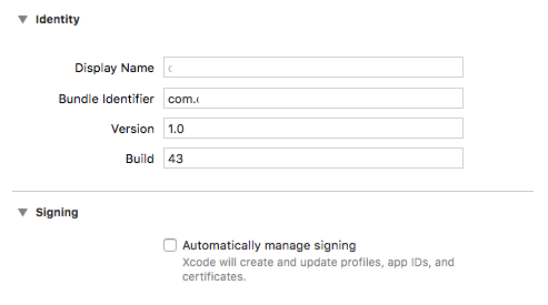 Automatically manage signing