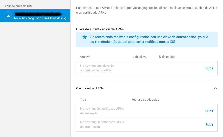 app certificate