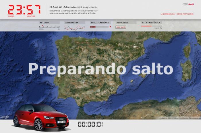 Advergame Audi A1 Adrenalin