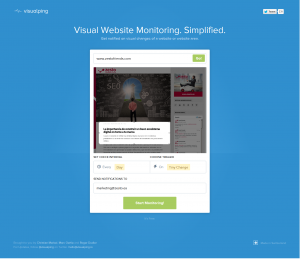 Visual Website Monitoring. Simplified.