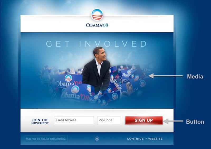 Obama 2008 original page