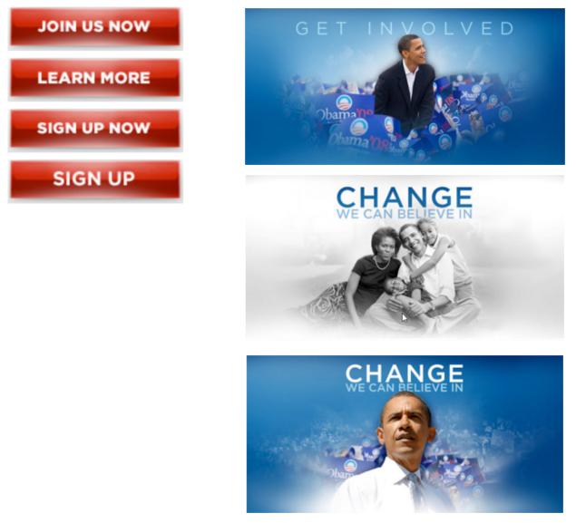 Alternativas A/B Obama 2008
