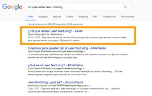 Por qué utilizar Lead Nurturing
