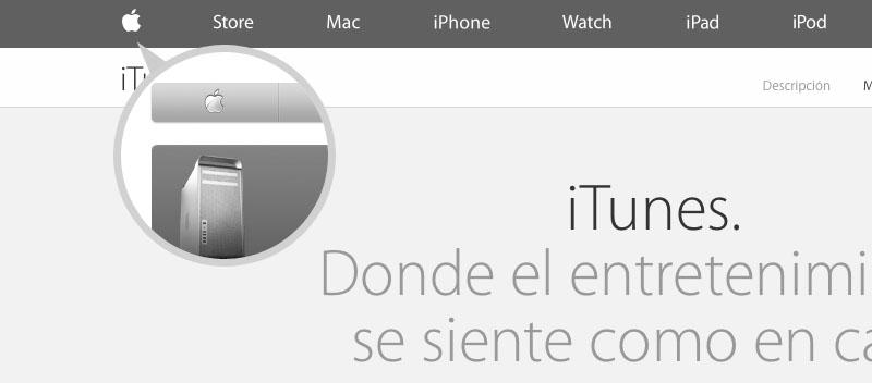 Apple flat web