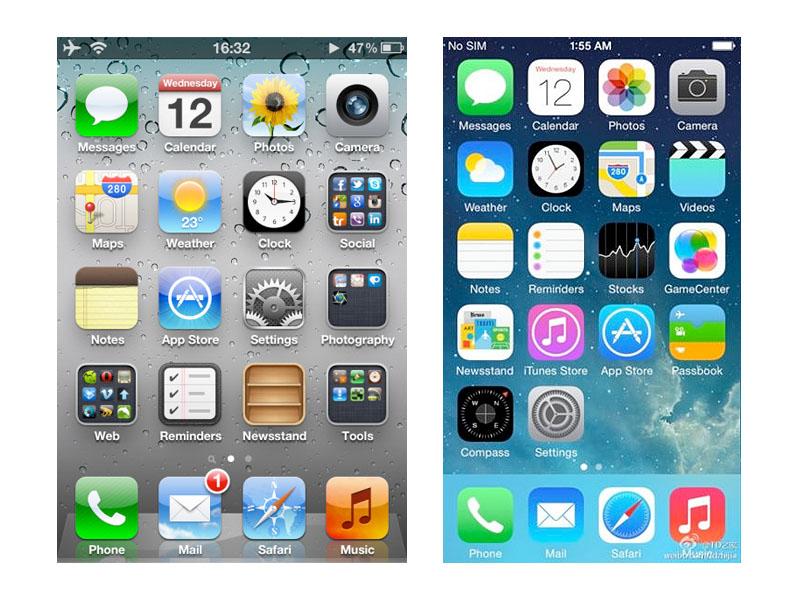 Interfaz iOS