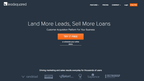LeadSquared - Herramienta Lead Nurturing