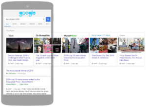 AMP Carrusel en Google